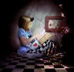Alice Reading in Her Room by Children7
