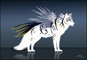 Wolf design - for sale (closed). by Noxeri