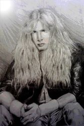 Dave Mustaine by aerokay