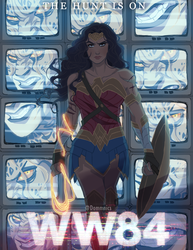 Wonder Woman: 1984 by Domnics