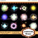 Bursts Of Light Flare Pack 1 by CntryGurl-Designs