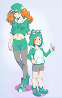 Request Gabby and Gab Girl by Zeighous
