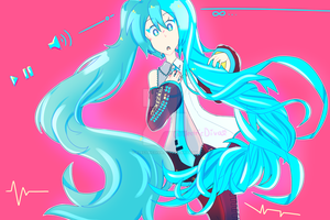 .HATSUNE MIKU IS UPDATING.... by ElectricDiva
