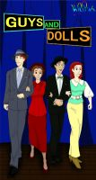 Guys and Dolls - HP style by KatChan00