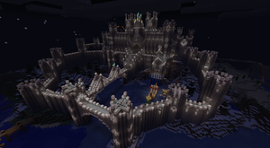 Epic Minecraft Castle by CW390