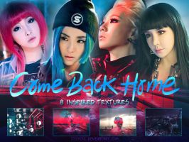 2ne1 | Come Back Home [Texture Pack] by itsyesi
