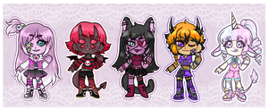 [Adopts]: Monster Kids (CLOSED) by SimplyDefault