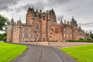 Glamis Castle by Yupa
