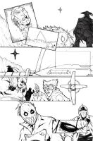 The Last Sheriff - Issue 3 Page 18 Pencils by RecklessHero