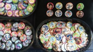 Baskets of Buttons by SouthParkTaoist