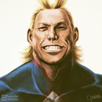 All Might by JaimeQuianoJr