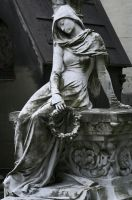 Cemetery lady by bchamp2