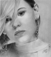 Clea DuVall by BlueSun-sketches
