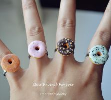 Donut Ring - Best Friend Forever Ring by Unicharms