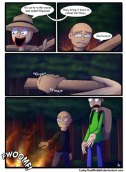 Fuel for the Campfire by LuckyGoldRabbit