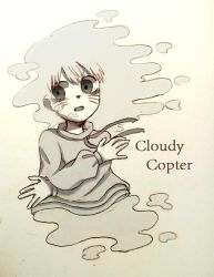 Cloudy Copter by balderdash94123