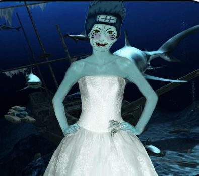 The Shark Bride by serpolette