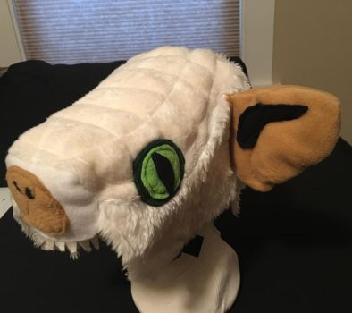 Space Harrier White Dragon Hat by tacksidermia