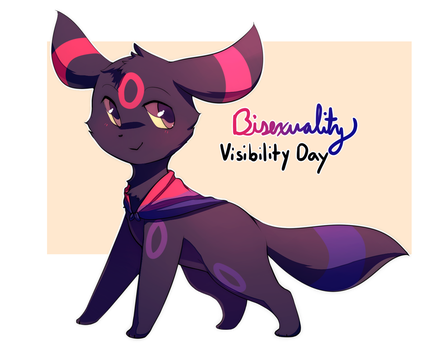 Bisexuality Visibility Day by honrupi