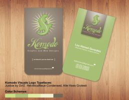 Komodo Business Card by tenbiscuits