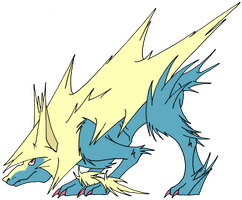 Box 11. 310 Mega Manectric / Proud-Piece by Kuruttra