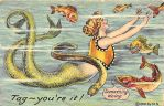 Mermaid Games- Tag, You're It! by Yesterdays-Paper