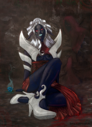 Drow Queen by laxon