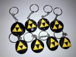 Triforce Keychains by JakProjects