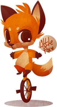 Little Fox by zombie