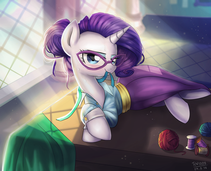 Schoolmarm Rarity by LooknamTCN