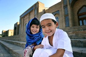 Muslim Children by mukhiddin