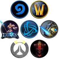 Blizzard Icons by kossza