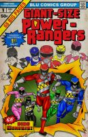 GIANT SIZE Power Rangers #1 by midknight01