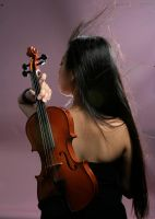 Girl With Violin 9 by b-e-c-k-y-stock