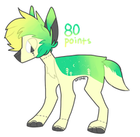 Tree Dog Adopt (CLOSED) by NashobaPaws