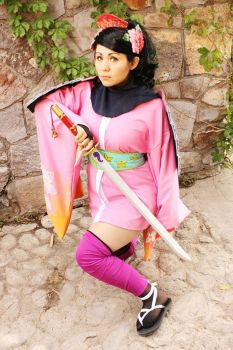 Momohime Cosplay by Love-Is-Hell