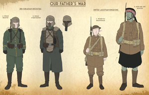 Our Fathers War Faction sheet 1 by goeliath