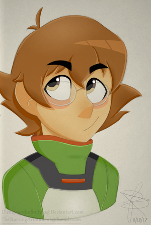 Pidge (colored sketch) by Infinity-Drawings