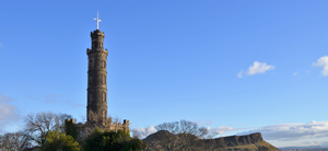 Nelson's Monument Edinburgh by Hayter
