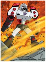 Transformers Animated Megatron by iq40