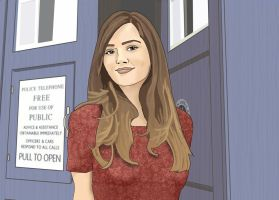 Clara Doesn't Happen to Know How to Fly This Thing by newwrldgrl
