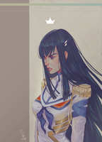 Satsuki .The queen. by mioree-art