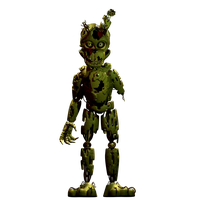 Springtrap v1 by 3D-Darlin
