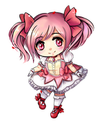 Madoka chibi by Frills-Of-Justice