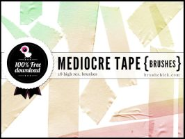 Mediocre Tape Brushes Part 1 by brushchick