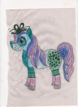 Pony coloring book page! by omgpeeps