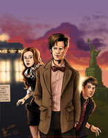 Doctor Who - Sunsets are Cool by Girl-on-the-Moon