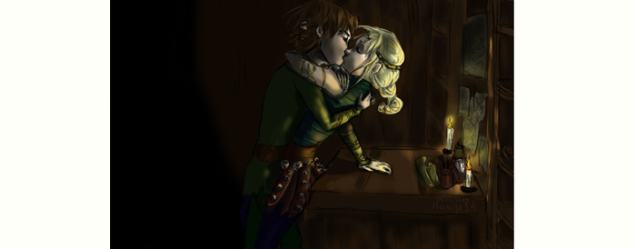 Astrid and Hiccup: No More Work After Midnight by Hiccstird
