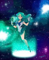 Sailor Neptune by squeegool