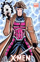 Gambit Sketch Cover by calslayton